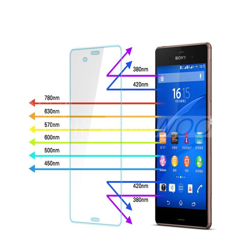 Tempered Glass 2.5D Arc 0.2MM 9H Screen Protectors Explosion Proof For Sony Xperia Z1 Z2 Z3 Z4 Z5 With Retail Package