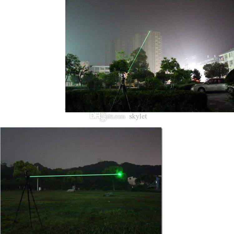 녹색 적색 빛 레이저 펜 빔 레이저 포인터 펜 SOS 장착 밤 사냥 교육 크리스마스 선물 Opp 패키지 DHL 무료 배송