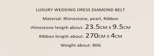 Gorgeous Courroies de mariage Beads Beads Crystal Long Mariage Sashes Blanc Bridal Sashes Nouveaux accessoires d'arrivée L-092