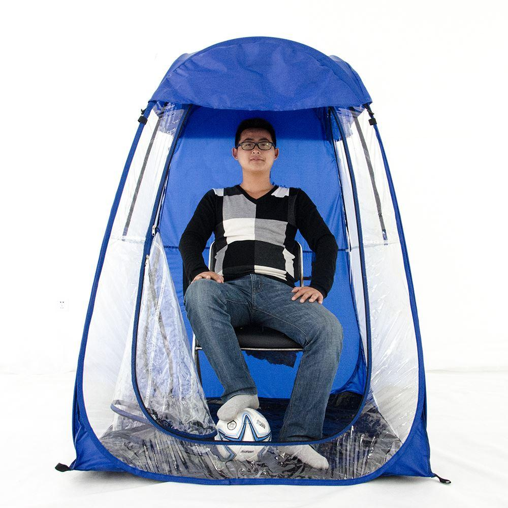 Bigger Size Rainproof Single Person Private Sun Shade Insulation Watching  Sports Pop Up Tent/Keep Warm Pop Up Portable Pvc Tent 3 Man Tent Family  Tents For ...