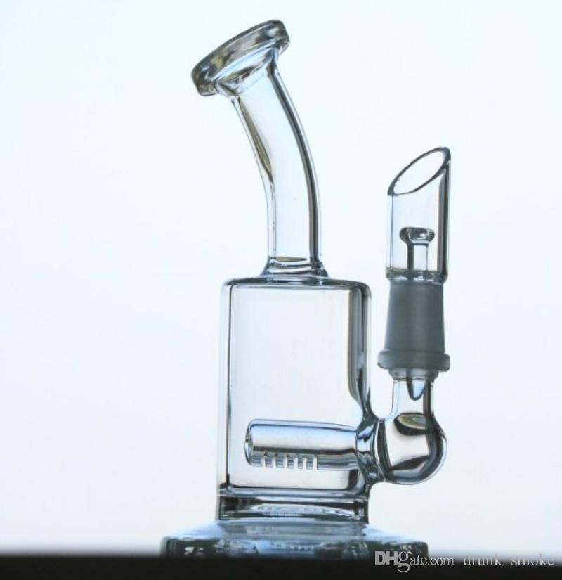 New color mini glass water pipes glass bongs glass oil rigs easy to clean good air permeability wholesale