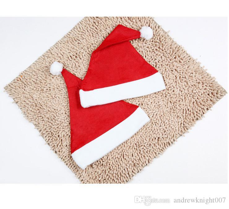 Großhandelsneue Kindergeschenk Weihnachtsdekorationshüte Hochwertiger Weihnachtshut Weihnachtsmann-Hut Nette Erwachsene Weihnachten Cosplay Hüte