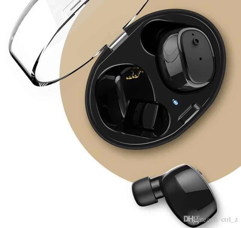 DACOM UCOMX U08S twins Wireless mini Bluetooth headphones outdoor sport portable mini headsets Business office earphone with charge box