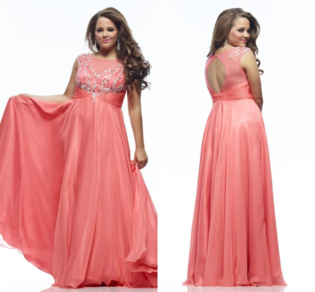 A Line Prom Dresses 2015 Vestidos Scoop Neck Open Back Cap Sleeve