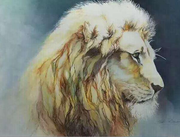 2019 Hand Painted Modern Lion Art Painting On Canvas Best Quality
