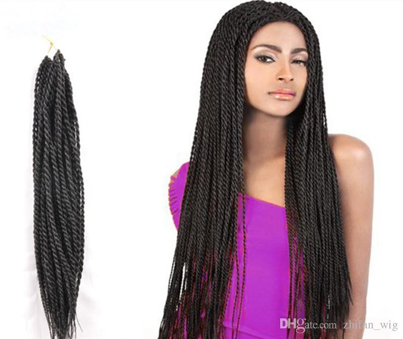 Z F 100 Kanekalon And Toyokaon Crochet Braids Hair Senegal Rope