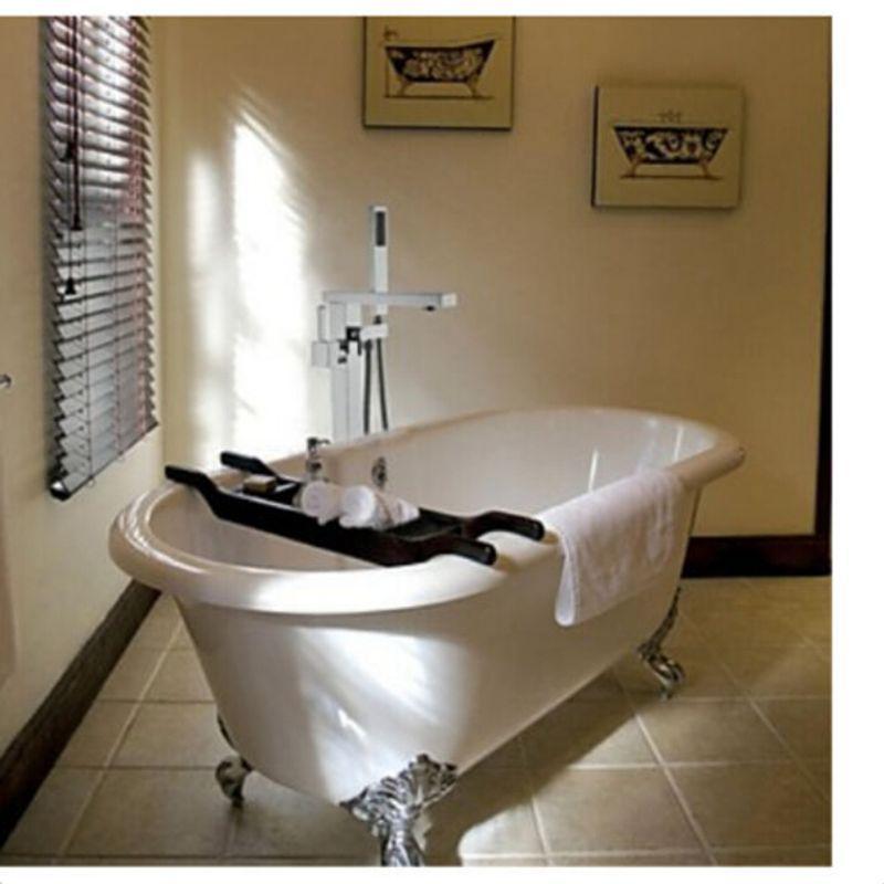 wholesale and retail luxury square bathroom tub faucet tub spout