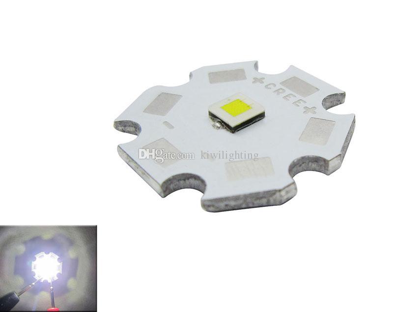 CREE XPL XP-L Beyaz / Sıcak Beyaz LED Verici Işık Lens Olmadan 20mm 16mm 14mm 12mm 8mm PCB Kurulu 50 adet / grup