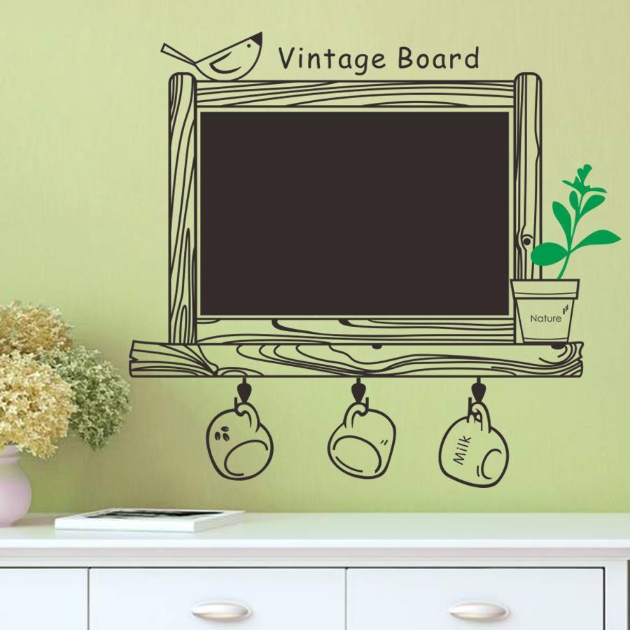 Factory Price Kitchen Chalkboard Wall Decal Decor Blackboard ...
