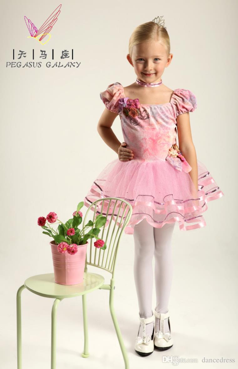Compre Vestido De Bailarina Niños Ropa De Baile Vestido Para Bailar ...