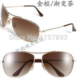 Occhiali da sole in vetro temperato anti-proiettile antigraffio 3293 di alta qualità tendenza di occhiali da sole uomo e donna