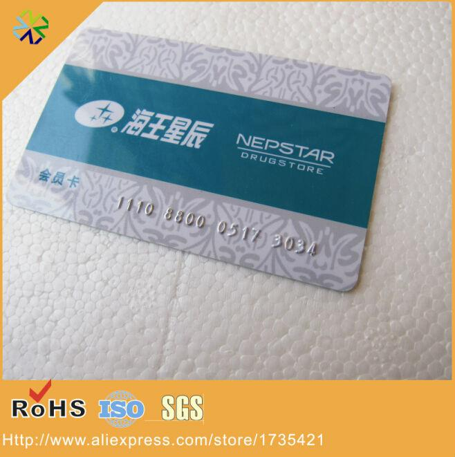 Plastic pvc material black high co magnetic strip panel silver plastic pvc material black high co magnetic strip panel silver number embossed membership card plastic card business card pvc card online with 29367piece reheart Image collections