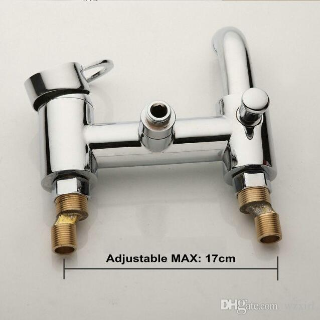 Bathroom Mixer Bath Tub Copper Mixing Control Valve Wall Mounted Shower Faucet concealed faucet C3036