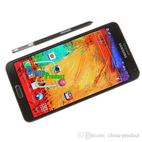 "Original Samsung Galaxy Note 3 Mobile Phone Quad Core 3G RAM 16GB ROM 13MP Camera 5.7"" Screen N9005 N9000 cell phone"