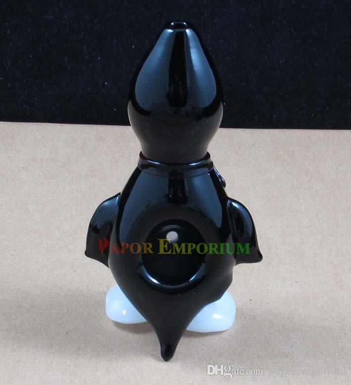 Cucchiaio da pipa in vetro soffiato a mano con fumo in vetro soffiato a mano stile popolare Altezza: 4,7 pollici