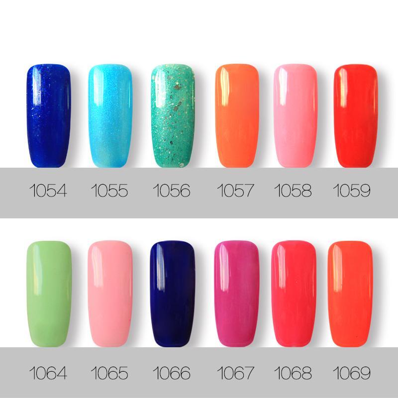 Soak off led & uv harmony gelish gel nail polish gel lacquer base coat foundation and top coat