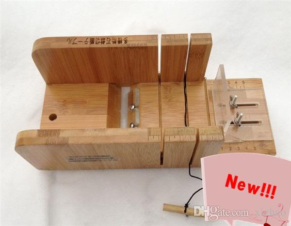 환경 대나무 소재 조정 가능한 비누 절단 기계 스마트 셰이프 비누 절단 도구 시간당 XZ-N001