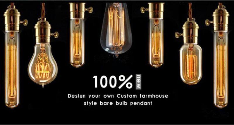2015 NEW Edison Chandelier Bulb Antique Bulb Aka Carbon Filament Lamp Silk Bulb Antique Light Edison Light Bulb Incandescent Bulbs by DHL