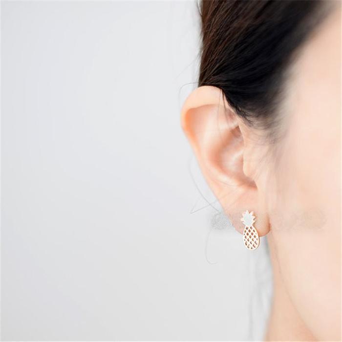 Pregos de orelha de qualidade superior Studs de orelha de alta qualidade para mulheres Design exclusivo nova chegada para Sale17