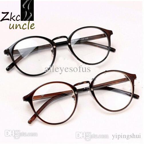 2018 Vintage Glasses Men 2015 Big Brand Frames Retro Man