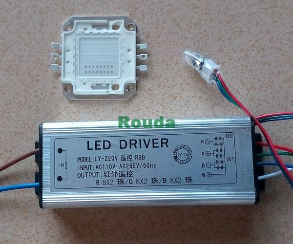 50w Led Driver Power Supply: 2019 Rgb Led Driver 50w Led Power Supply + 50w Rgb Led