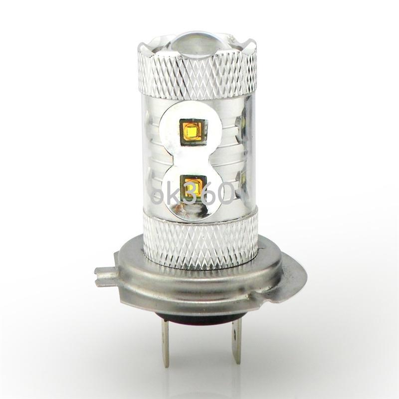 LED Chip 50W H7 H4 LED Car Fog Lights Fog Lamps, High Power Auto Daytime Running Light Car Bulbs LED Headlight White