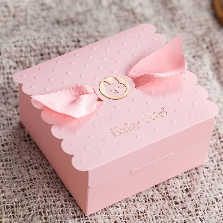 Loverly Pink Ribbon Baby Girl Birthday Party Boxes 2015 Baby Shower ...