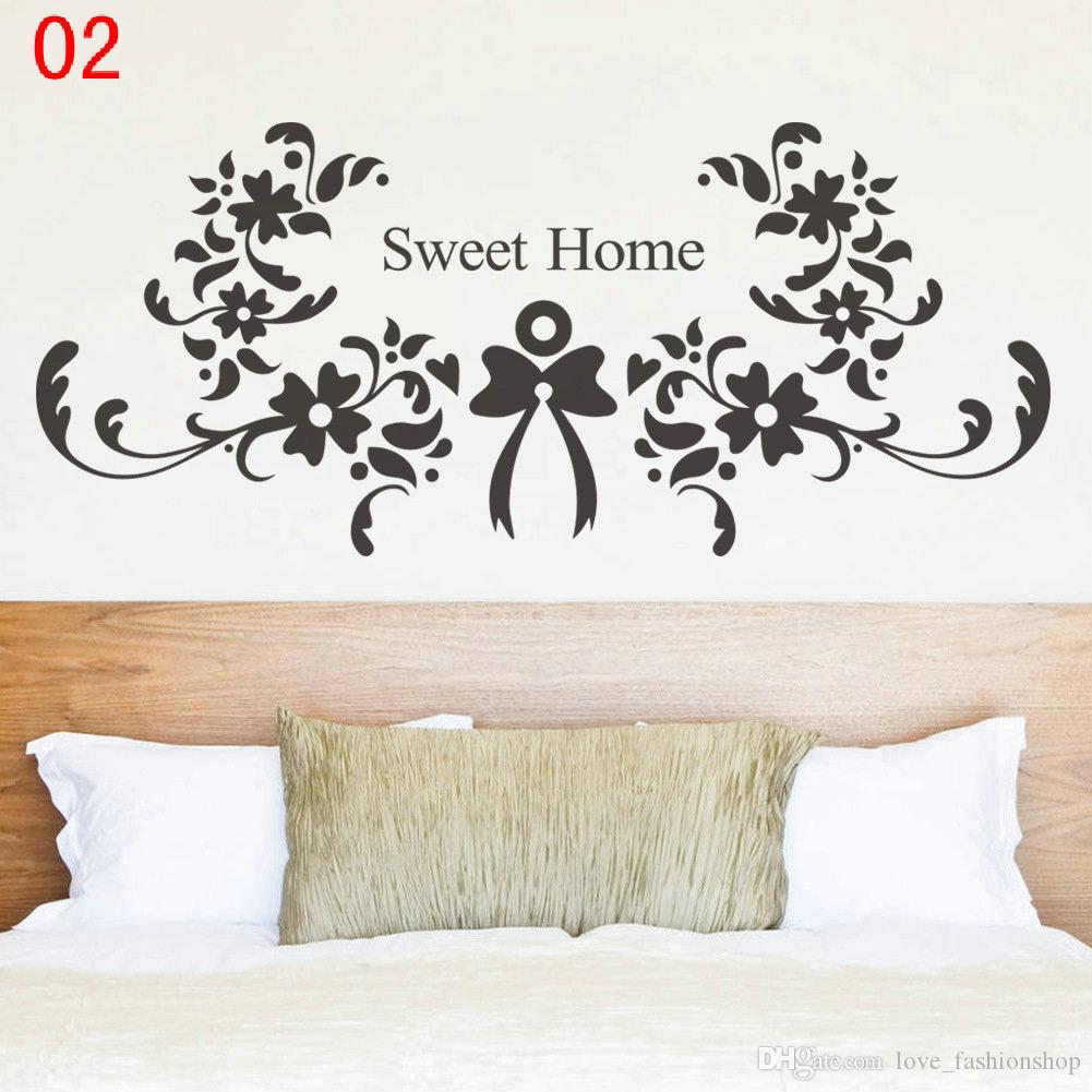 DHL EMS Mix 9 styles Wall Quotes Decal Words Lettering Saying Wall Decor Sticker Vinyl Wall Art Stickers Decals