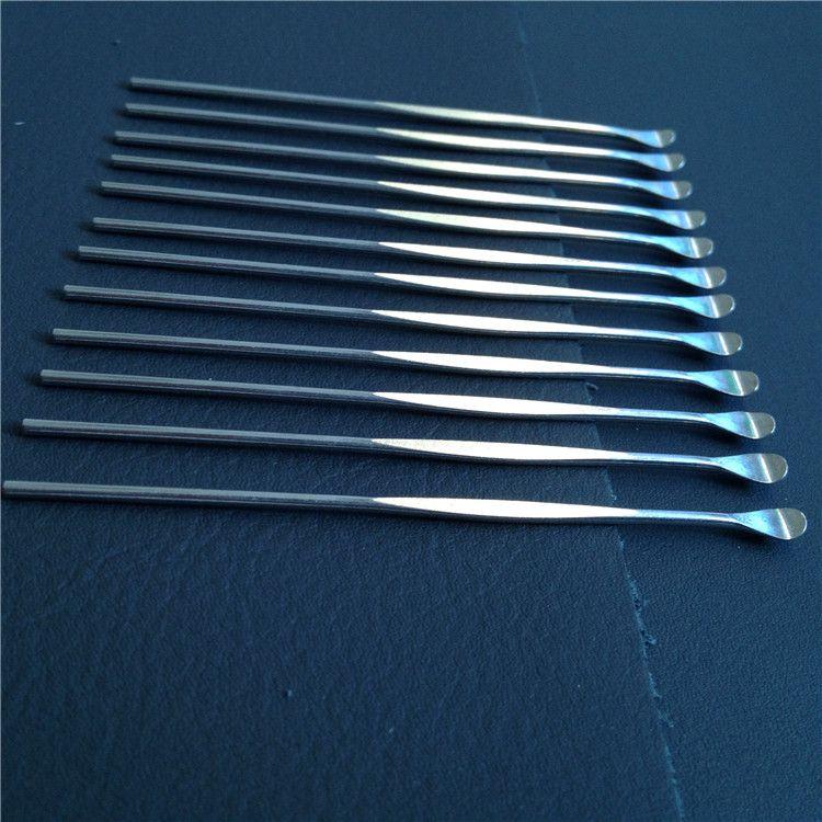 Бесплатный Высокое качество воск инструмент dabber vax распылитель инструмент из нержавеющей стали dab инструмент титановый ящик для ногтей батареи