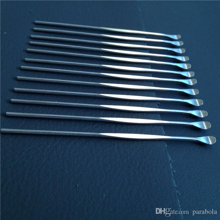 Livre de Alta qualidade ferramenta dabber cera vax ferramenta atomizador de aço inoxidável dab ferramenta de titânio caixa de prego bateria