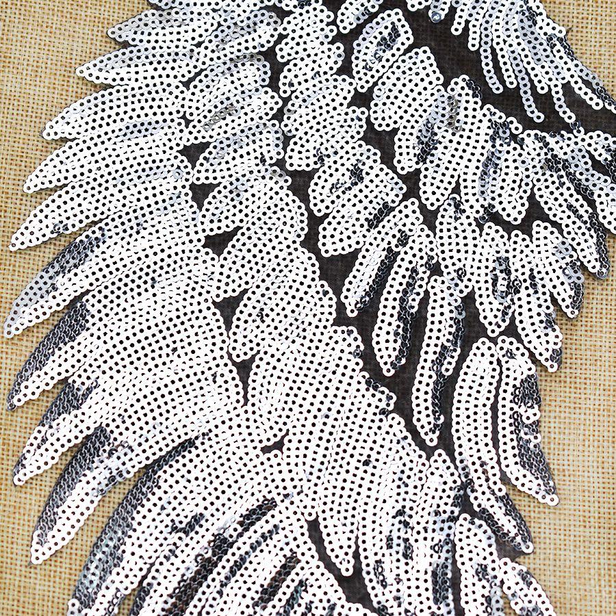 1 쌍의 연속 된 날개 옷 가방에 대 한 패치 자 켓에 철 청바지에 대 한 패치 자 켓 자 켓 배지에 DIY 봉
