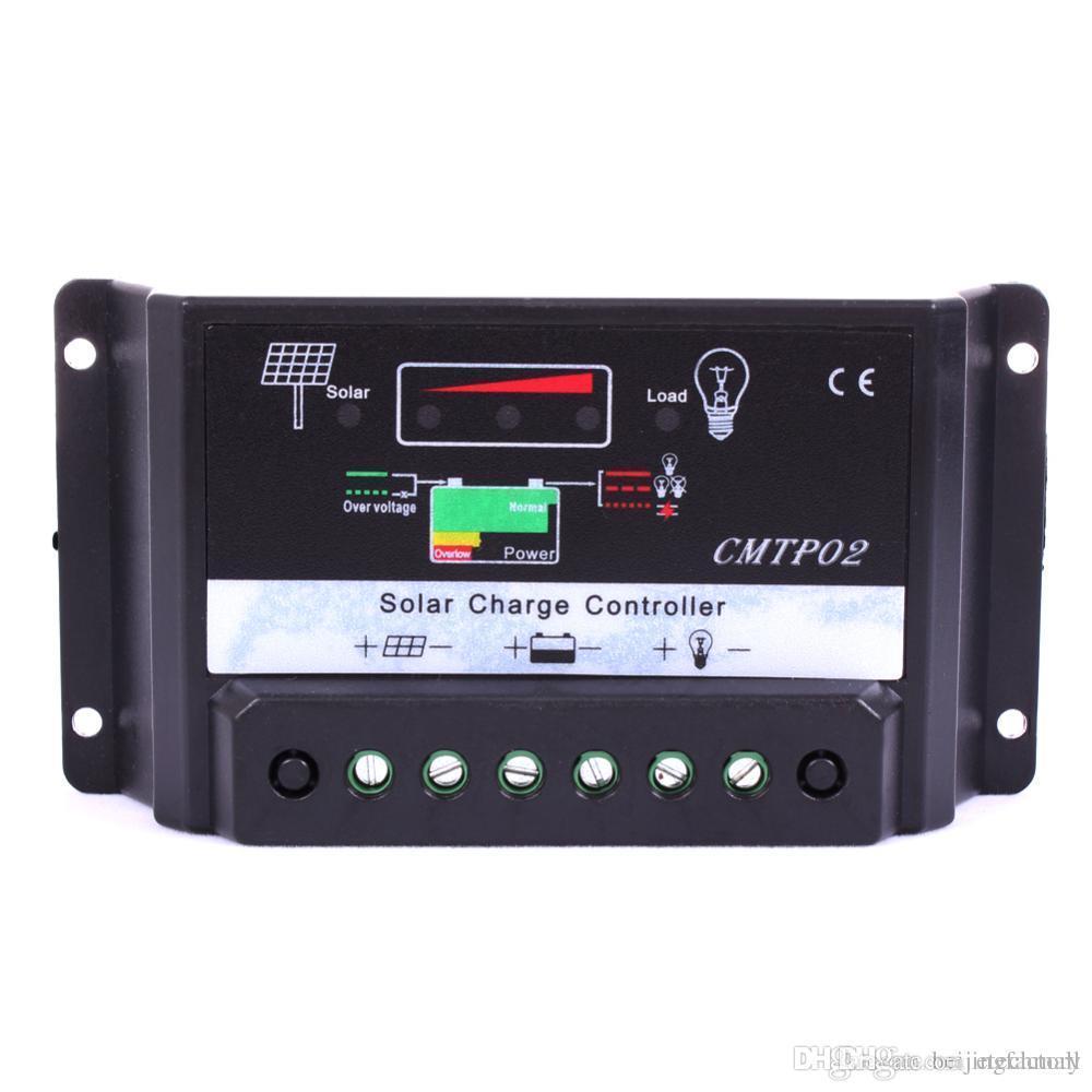 30a Solar Panel Battery Regulator Charge Controller 12v