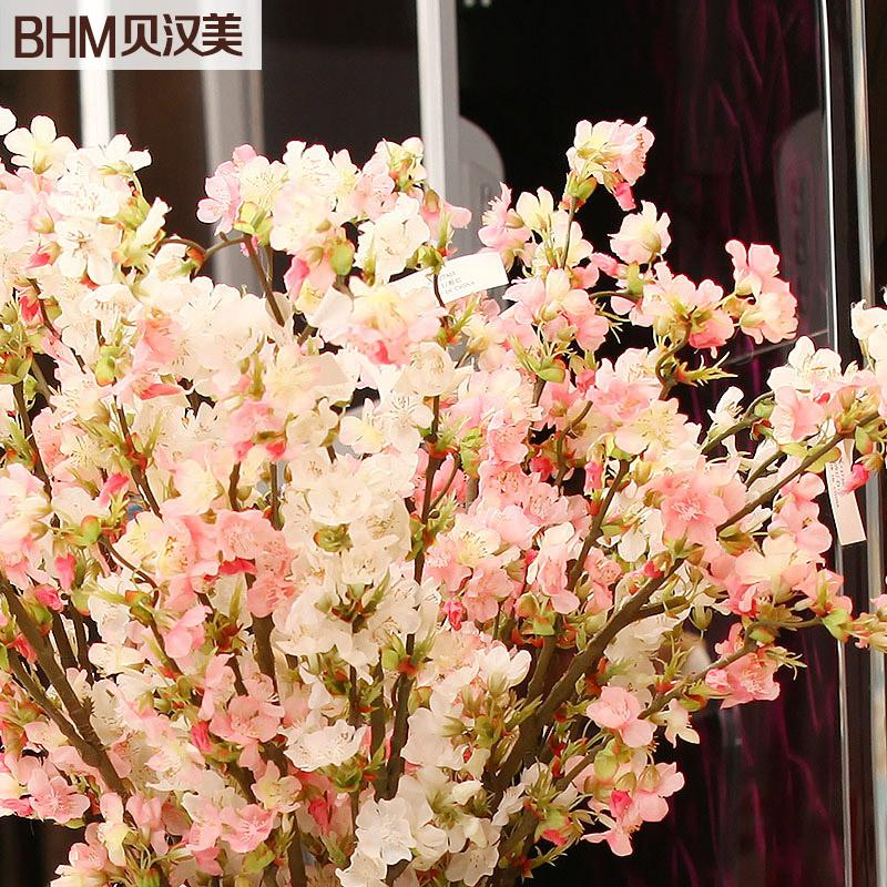 Behan us furniture wedding new home decorative floral silk flower behan us furniture wedding new home decorative floral silk flower simulation flower artificial flowers cherry dichroism election online with 4123piece on mightylinksfo