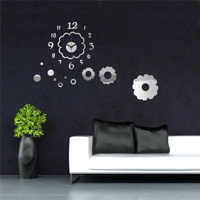 digital office wall clocks digital. Lowest Price DIY Flower Petal Digital Wall Clock Mirror Acrylic Home Office Decor Sticker Order\u003c$18no Track Clocks .