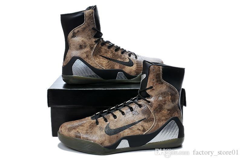 2015 New Zapatos Nike Kobe 9 Alto Ext Htm Mamba Zapatos New Basketball Zapatos barato 75feb7