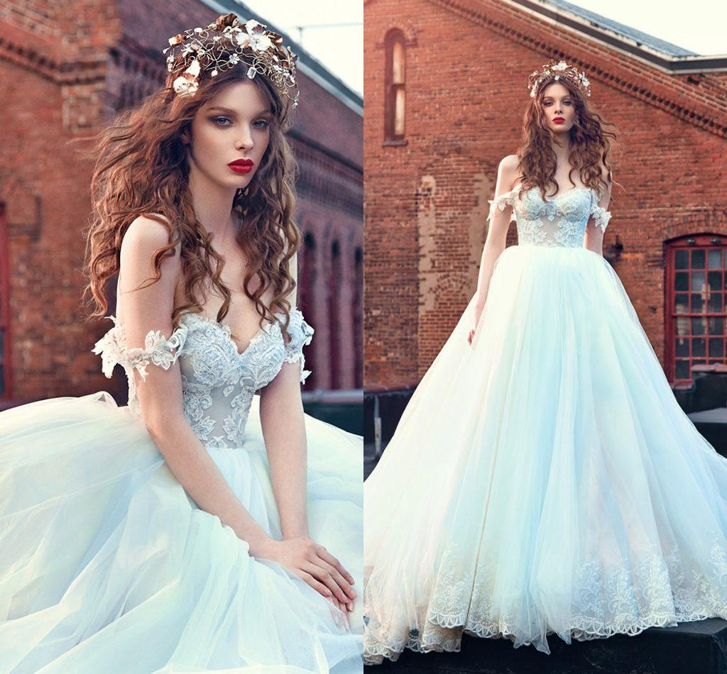 Vintage Lace Ball Gown Wedding Dresses 2016 Off The Shoulder ...