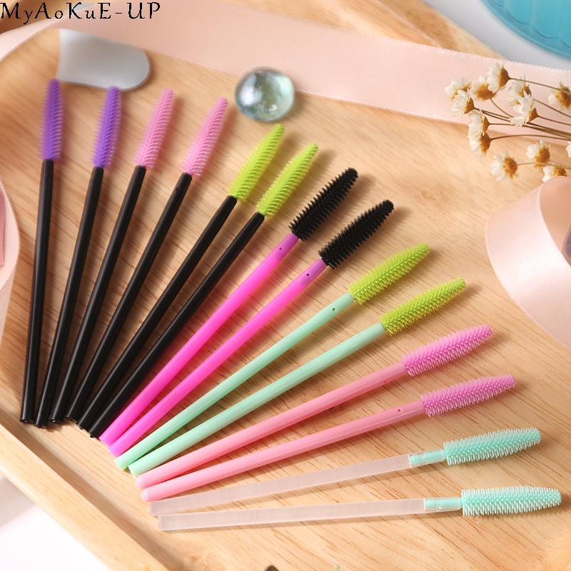 Disposable Makeup Brushes Eyelash Extension Wholesale Silicone