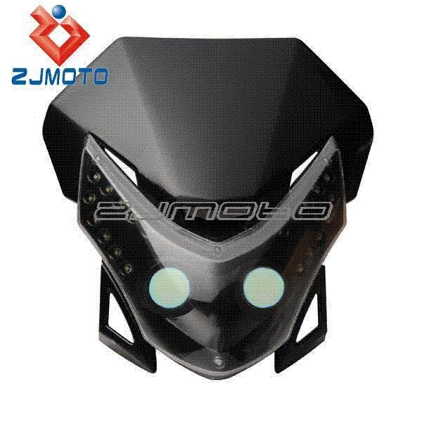 best quality led vision headlight street fighter bike fairing
