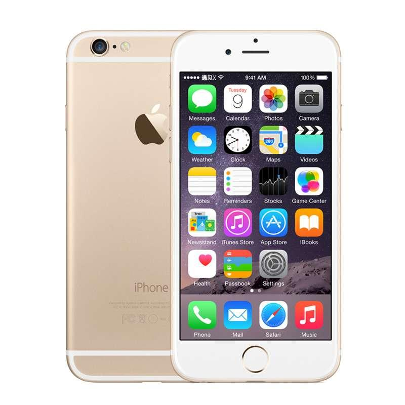 Original Apple iPhone 6 4G LTE 16 Go 64 Go 128 Go IOS 8,4 4,7 pouces Retina Screen Dual Core A8 8,0MP Appareil photo Nouveau téléphone neuf remis à neuf