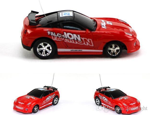 drop shipping COKE CAN mini rc car 1:63 high-speed remote control car