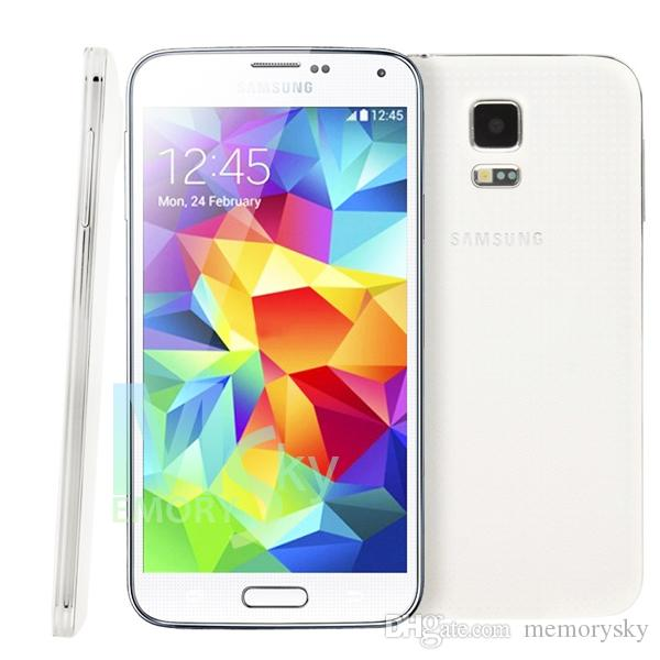 Original restaurado Samsung Galaxy S5 i9600 2GB RAM 16GB ROM 16MP Cámara Quad Core 5.1