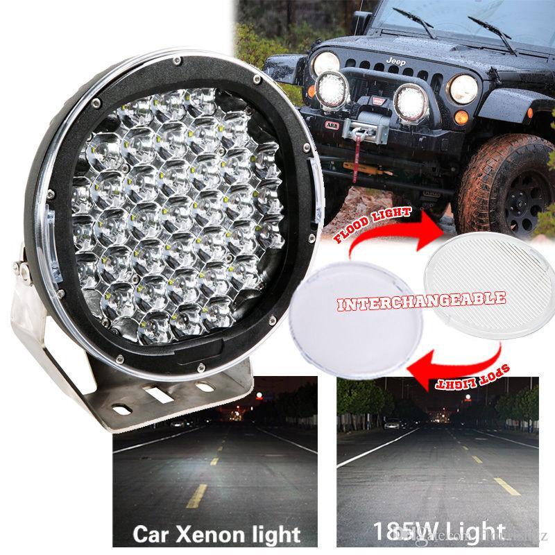 Pair 9005 90W 9800LM Genuine CHIP LED Headlight Kit Hi //Low Beam Light Car 6000k