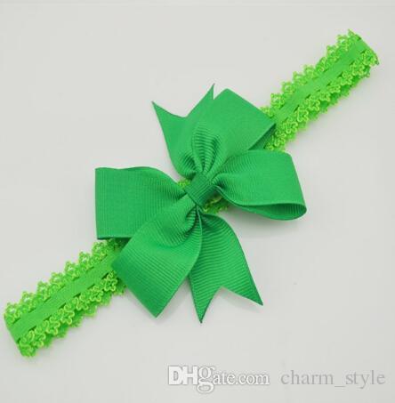 30% off Baby Bow Headband Hair Bowknot lace Headbands Infant Hair Accessories Girls grosgrain ribbon Bow Headband