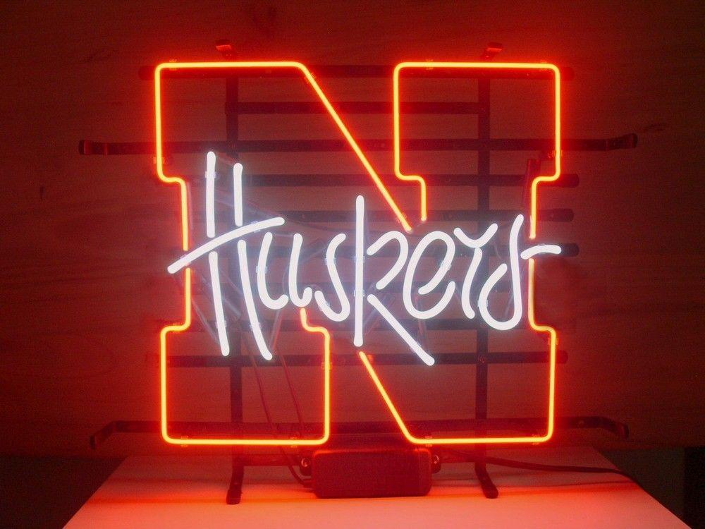 2018 new nebraska cornhuskers huskers neon sign real glass tube beer 2018 new nebraska cornhuskers huskers neon sign real glass tube beer bar pub neon light sign store display from happyshoping2009 10051 dhgate aloadofball Image collections