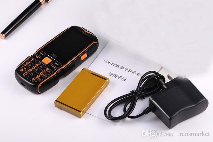 New 2.4 Inch Rugged Phone XP3500 12000Mah Power Bank Phone GSM Dual SIM Card Senior Flashlight Big Speaker Phone PK Xiaocai X6