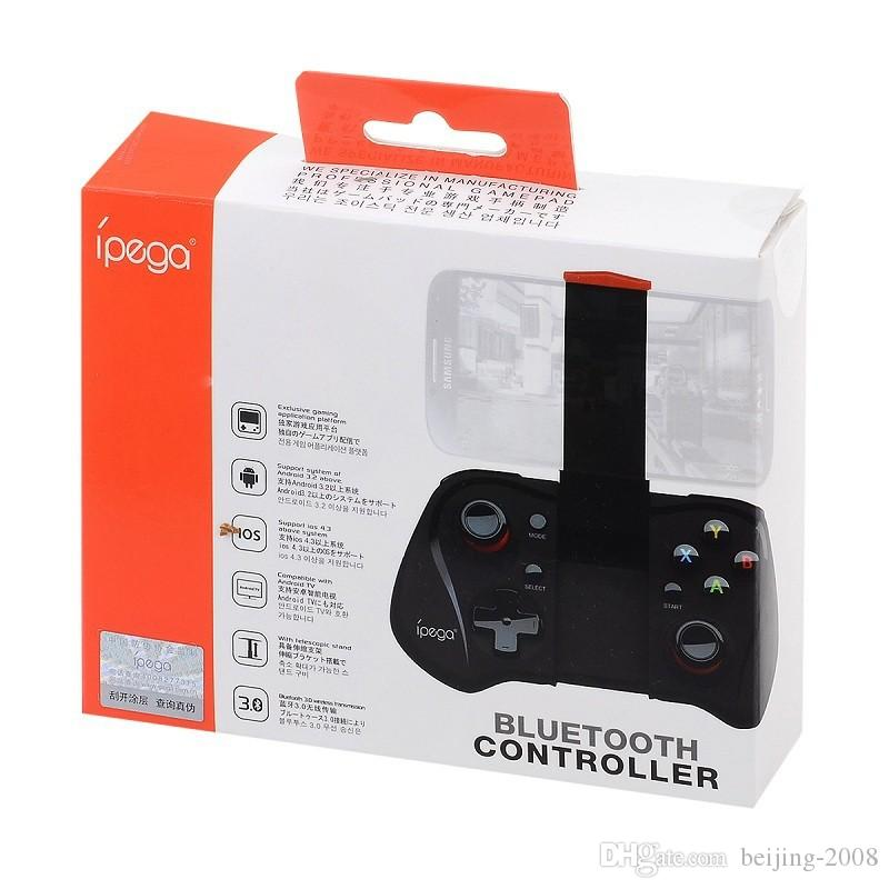 Caliente IPEGA PG-9033 Bluetooth V3.0 inalámbrico Telescopic Gaming Controller Gamepads para iOS Android teléfonos tabletas iPhone iPad Samsung 010209