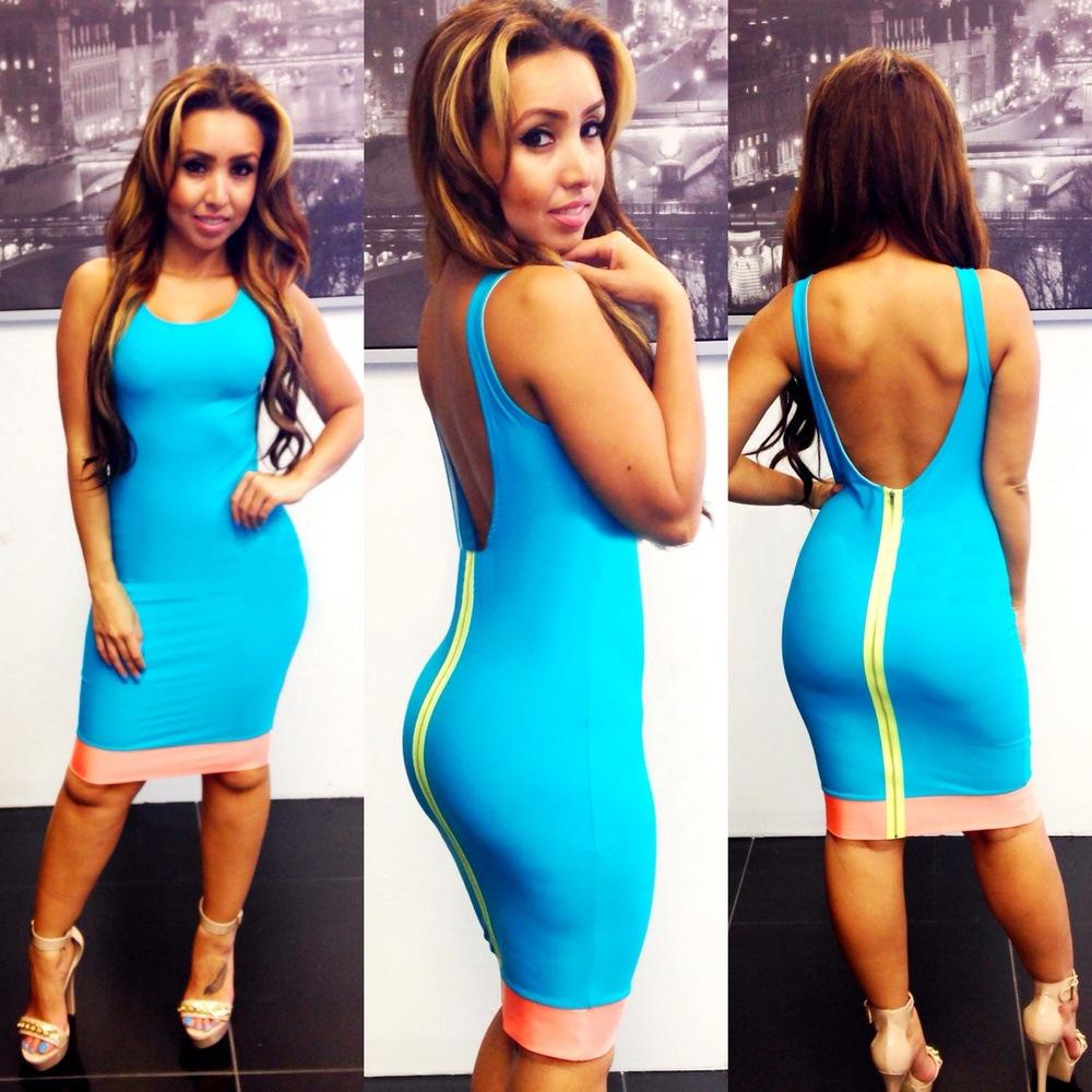 The New Product Euro American And Sexy One Piece Dress Bares The ...