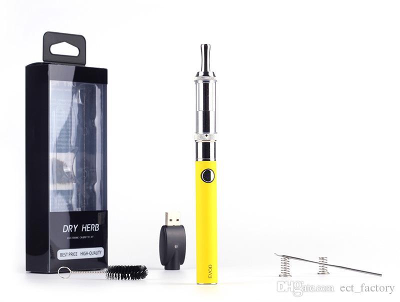 M3 EVOD Dry Herb Elektronische Zigaretten Verdampfer M3 Mit EVOD Batterie Blisterpackung Ecig Trocken Kraut Pyrexglas M3 Riesige Dampf Ecigarette