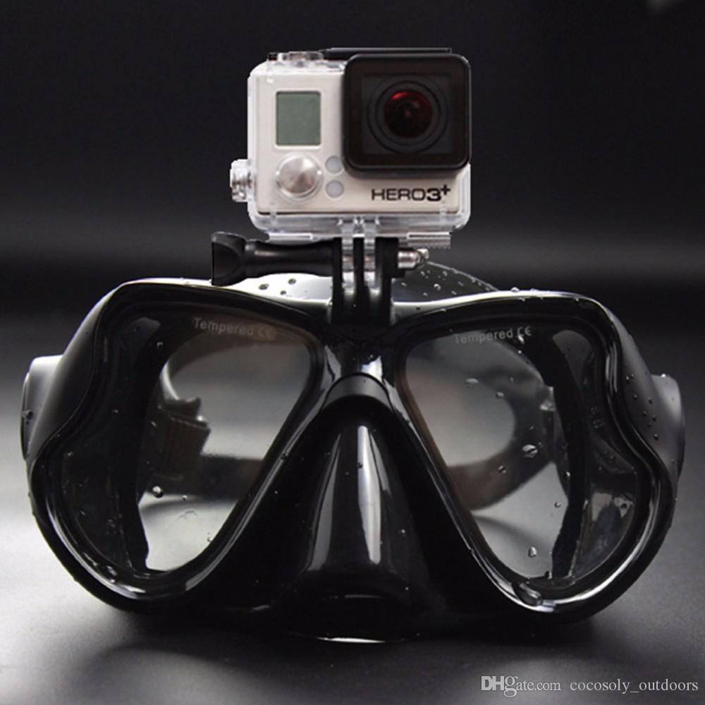 91c26afbc6 Compre Gafas De Natación Caza Subacuática Cámara De Buceo Máscara Buceo  Snorkel Para Deportes Cámara Compras Gratis A $11.05 Del Sports86 |  DHgate.Com