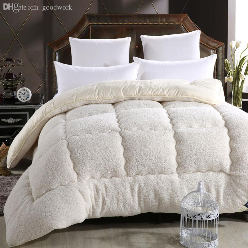 2019 Wholesale Winter Sherpa Comforter Set Warm And Comfy